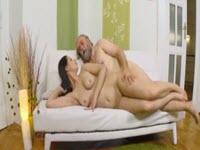Sesso anale con vecchio amante del sesso